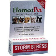 HomeoPet Storm Stress for Pets under 20lbs, 450 drops