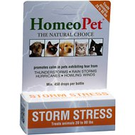 HomeoPet Storm Stress for Pets 20-80lbs, 450 drops