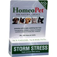 HomeoPet Storm Stress for Pets Over 80lbs, 450 drops