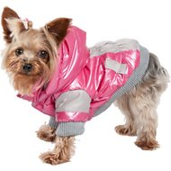 Pet Life Sporty Vintage Aspen Dog Ski Jacket, X-Small, Pink