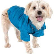 Pet Life Lightweight Sporty Avalanche Dog Coat, X-Small, Blue