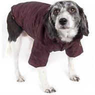 Pet Life Lightweight Sporty Avalanche Dog Coat, Large, Brown