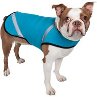 Pet Life Multi-Purpose Protective Shell Dog Coat, Blue, Large