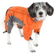 Dog Helios Blizzard Full-Bodied Reflective Dog Jacket, Orange, X-Small
