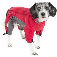 Dog Helios Blizzard Full-Bodied Reflective Dog Jacket, X-Small, Cola Red