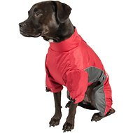 Dog Helios Blizzard Full-Bodied Reflective Dog Jacket, Medium, Cola Red
