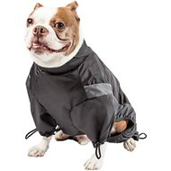 Touchdog Quantum-Ice Full-Bodied Reflective Dog Jacket with Blackshark Technology, Grey, Large