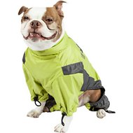 Touchdog Quantum-Ice Full-Bodied Reflective Dog Jacket with Blackshark Technology, Light Yellow, Large