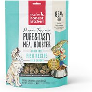 The Honest Kitchen Proper Toppers Grain-Free Fish Recipe Dog Food Topper, 14-oz bag