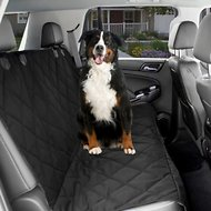 KOPEKS Waterproof Quilted Car Seat Cover, Black