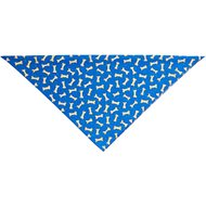 Top Performance Tossed Bones Dog Bandana, Blue