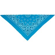 Top Performance Paisley Dog Bandana, Turquoise