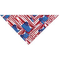 Top Performance Painted Flag Dog Bandana