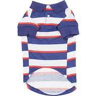 Zack & Zoey Patriotic SPF40 Dog Polo, Medium