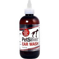 PetSilver Antimicrobial Dog & Cat Ear Wash, 8-oz bottle