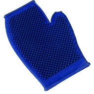 Petbuddies FurStatic Pet Grooming Glove, Blue