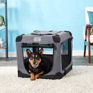 Arf Pets Soft-Sided Crate, 26-inch