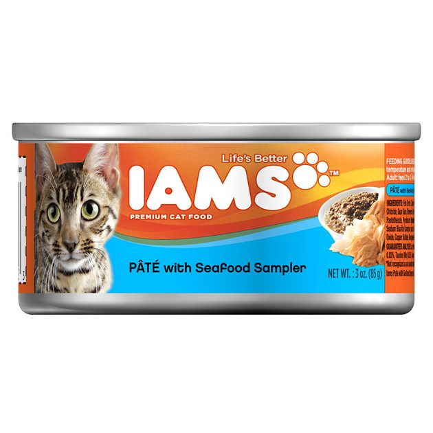 Iams Oz Pate Cat Food