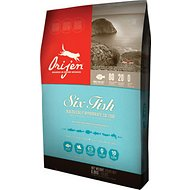 Orijen 6 Fish Grain-Free Formula Dry Cat Food, 5-lb bag
