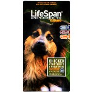 PetGuard LifeSpan Chicken, Vegetables & Whole Grains Dry Dog Food, 17-lb bag