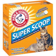 Arm & Hammer Litter Super Scoop Fragrance-Free Clumping Litter, 14-lb box