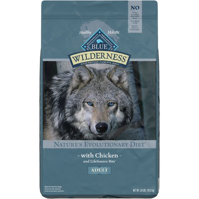 Blue Wilderness High Protein Blue Wilderness Adult Grain Free Chicken Dry Dog Food