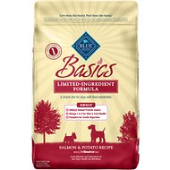 Blue Buffalo Basics Limited Ingredient Formula Salmon & Potato Recipe Adult Dry Dog Food, 24-lb bag