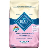 Blue Buffalo Life Protection Formula Small Breed Puppy Chicken & Oatmeal Recipe Dry Dog Food, 15-lb bag