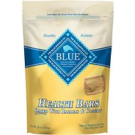 Blue Buffalo Health Bars Baked with Banana & Yogurt Dog Treats, 16-oz