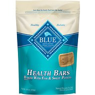 Blue Buffalo Health Bars Baked with Fish & Sweet Potato Dog Treats, 16-oz