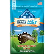 Blue Buffalo Blue Bits Tempting Turkey Recipe Soft-Moist Training Dog Treats, 4-oz bag