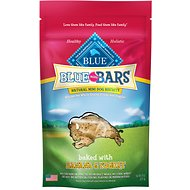 Blue Buffalo Blue Mini Bars Banana & Yogurt Natural Mini Dog Treats, 8-oz bag