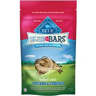 Blue Buffalo Blue Mini Bars Chicken & Cheddar Natural Mini Dog Treats, 8-oz bag