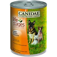 Canidae Life Stages Lamb & Rice Formula Canned Dog Food, 13-oz, case of 12