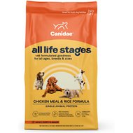 CANIDAE Life Stages Chicken Meal & Rice Formula Dry Dog Food, 30-lb bag