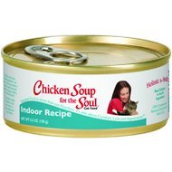 Chicken Soup for the Soul Indoor Canned Cat Food, 5.5-oz, case of 24