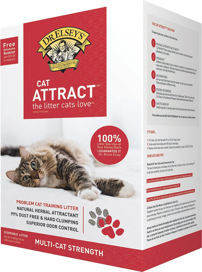 Dr  Elsey's Precious Cat Attract Cat Litter, 20-lb box