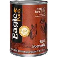 Eagle Pack Beef Formula Canned Dog Food, 13.2-oz, case of 12