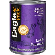 Eagle Pack Lamb Formula Canned Dog Food, 13.2-oz, case of 12