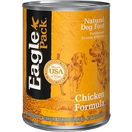 Eagle Pack Chicken Formula Canned Dog Food, 13.2-oz, case of 12