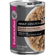 Eukanuba Adult Mixed Grill with Chicken & Beef Canned Dog Food, 13.2-oz, case of 12