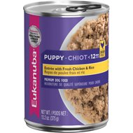 Eukanuba Puppy Entree with Fresh Chicken & Rice Canned Dog Food, 13.2-oz, case of 12