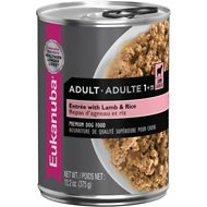 Eukanuba Adult Entree with Lamb & Rice Canned Dog Food, 13.2-oz, case of 12