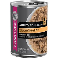 Eukanuba Adult Entree with Turkey & Rice Canned Dog Food, 13.2-oz, case of 12