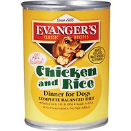 Evanger's Classic Recipes Chicken & Rice Canned Dog Food, 12.8-oz, case of 12