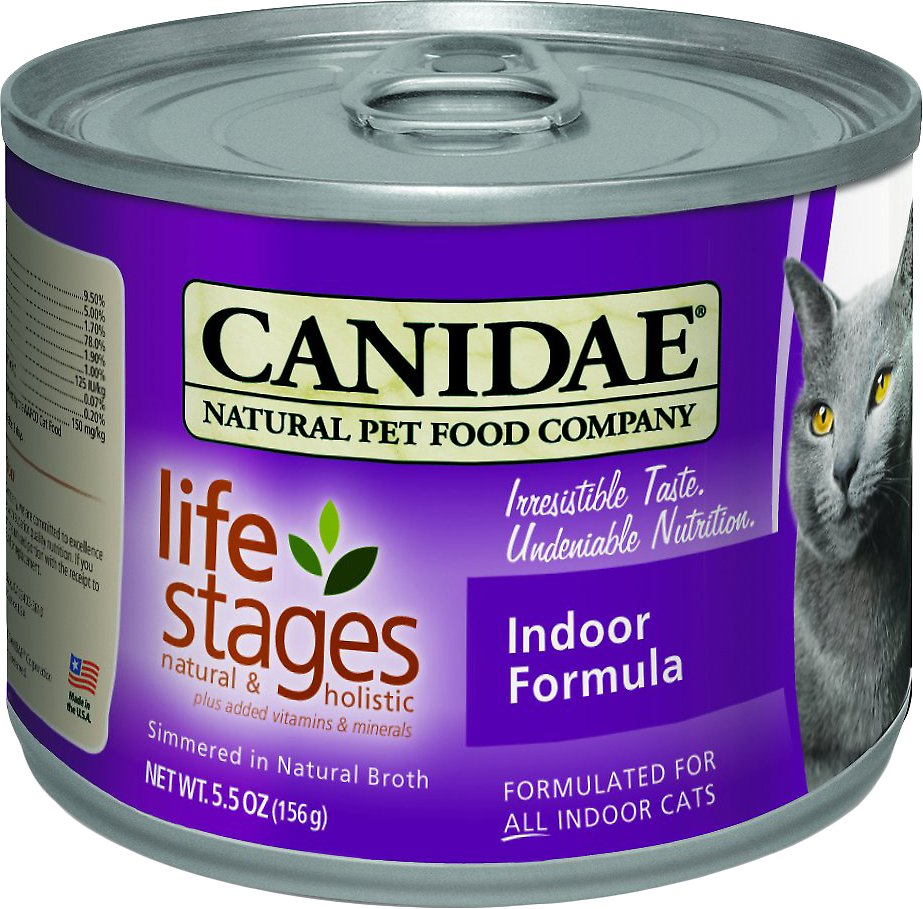 Canidae Life Stages Indoor Formula Canned Cat Food