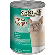 Canidae Life Stages All Life Stages Formula Canned Cat Food, 13-oz, case of 12