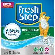 Fresh Step Scoopable Cat Litter, 25-lb box