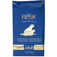 Fromm Gold Holistic Reduced Activity & Senior Dry Dog Food, 33-lb bag