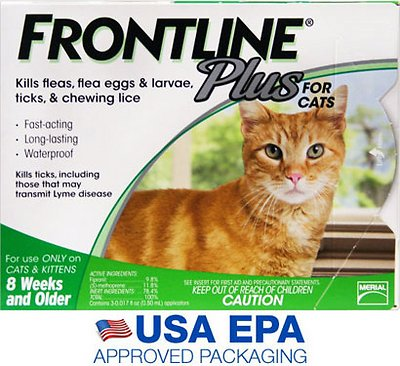Frontline Plus Flea Tick Treatment For Cats Kittens 6